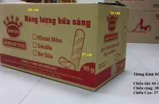 Thùng carton cũ Kinh Đô