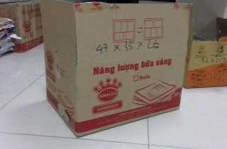 thùng carton 3 lớp cũ kích thước nhỏ