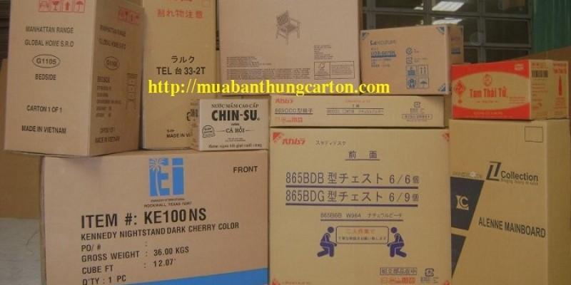 Cách chọn mua thùng carton cũ chất lượng, giá rẻ