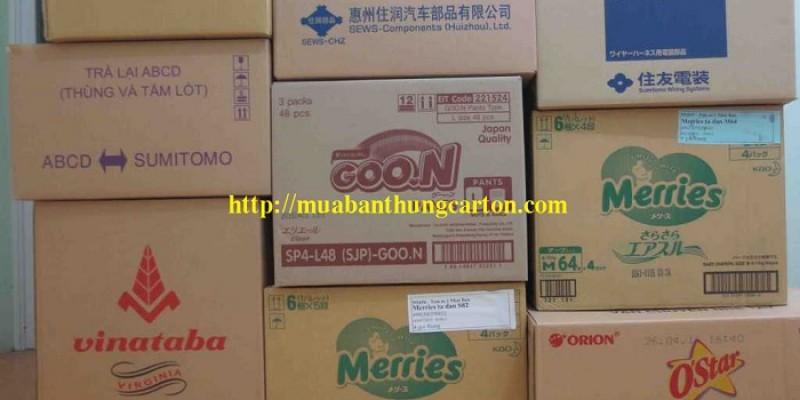 Mua thùng giấy carton giá rẻ, chất lượng tại Hà Nội