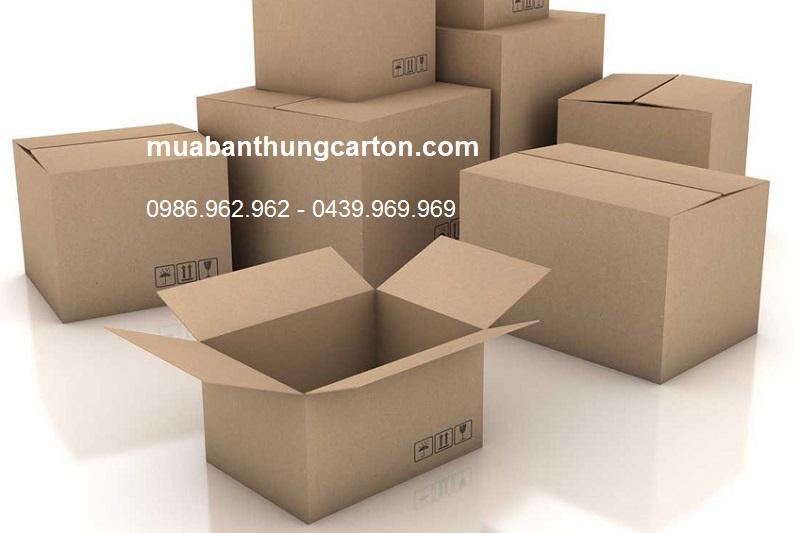 Liên hệ mua bán thùng carton chất lượng, giá rẻ