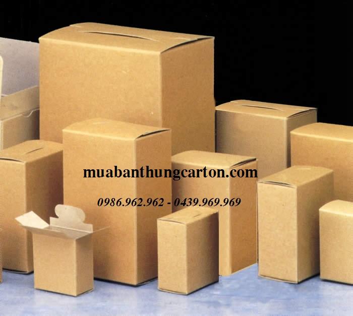 Lựa chọn mua thùng carton mới theo yêu cầu đóng gói