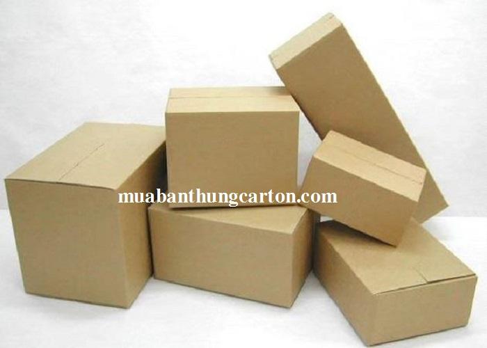 Chọn mua thùng carton mới chất lượng