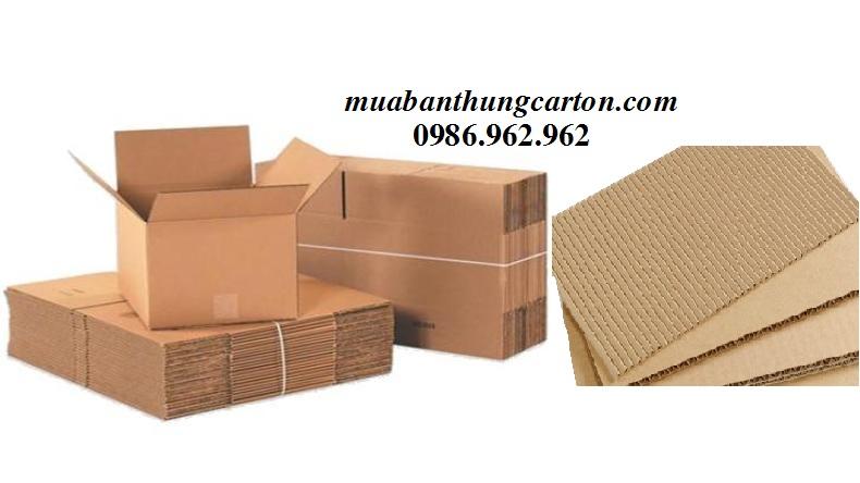 Chọn mua thùng carton mới có độ dày phù hợp