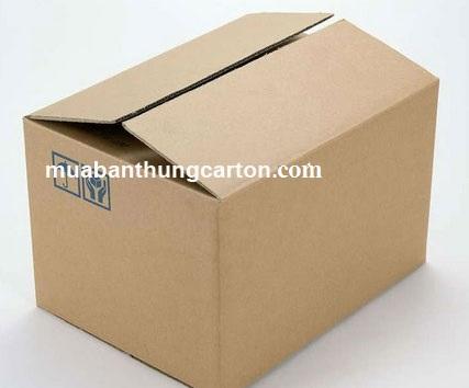Thùng carton 3 lớp mới