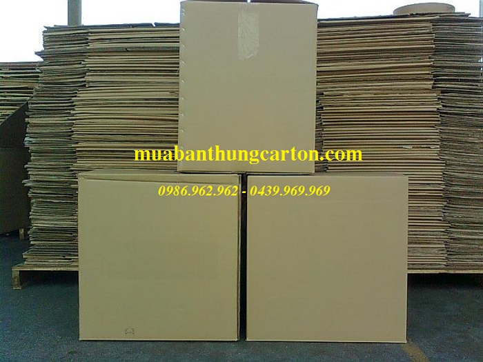 Thùng carton 5 lớp chất lượng bền chắc