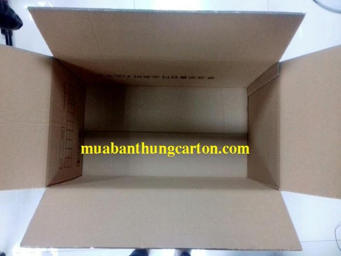 Thùng carton 5 lớp mới chắc chắn được sản xuất từ giấy nhập ngoại