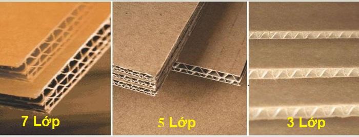 So sánh thùng giấy carton 7 lớp