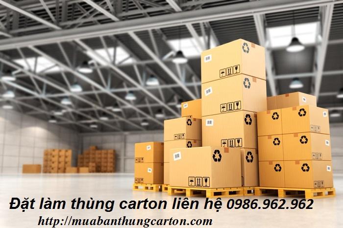 Đặt làm thùng carton giá rẻ theo yêu cầu