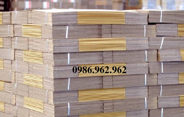 Làm thùng carton mới theo yêu cầu liên hệ 0986.962.962