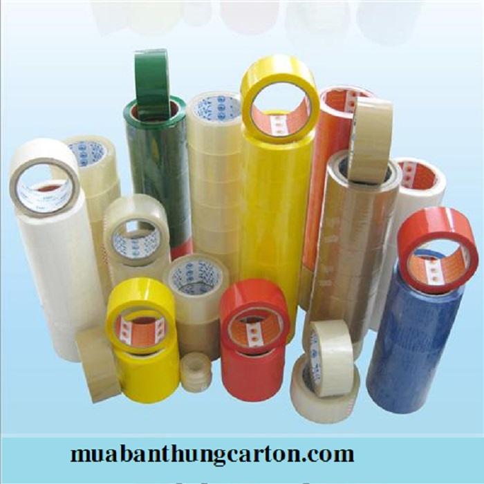 Các loại băng dính với nhiều công dụng