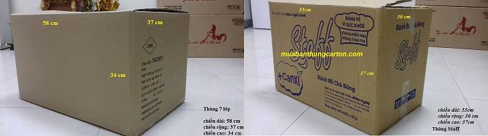 Tình trạng sử dụng ảnh hưởng tới giá bán thùng carton